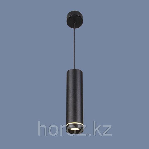 Накладной потолочный светодиодный светильник черный LED 12 ватт