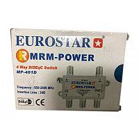DiSEgC swith 4*1 MRM EUROSTAR MP-401D 950-2400MHz 3db
