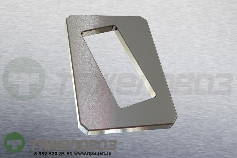 Стопорная пластина рессорного пальца 104x72x8 03.281.54.14.0