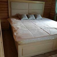 Кровать с мягкой спинкой (МДФ)