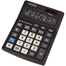 Калькулятор настольный Citizen Business, 10 разрядов 100*136*32 мм.