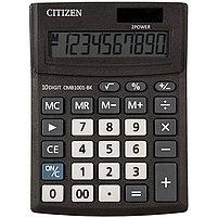 Калькулятор настольный Citizen Business, 10 разрядов 100*136*32 мм., фото 2