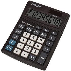 Калькулятор настольный Citizen Business, 8 разрядов, 100*136*32мм