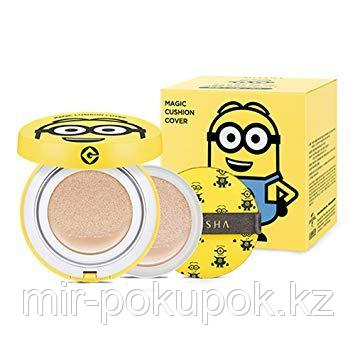 Тональное средство – кушон Missha Minions Edition M Magic Cushion Moisture Special Set SPF50 /PA, Алматы