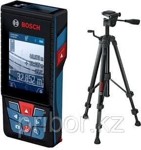 Лазерный дальномер (120 м) Bosch GLM 120 C Professional + BT150.