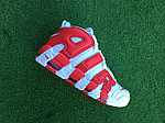 Кроссовки Nike Air More Uptempo (White&Red), фото 5
