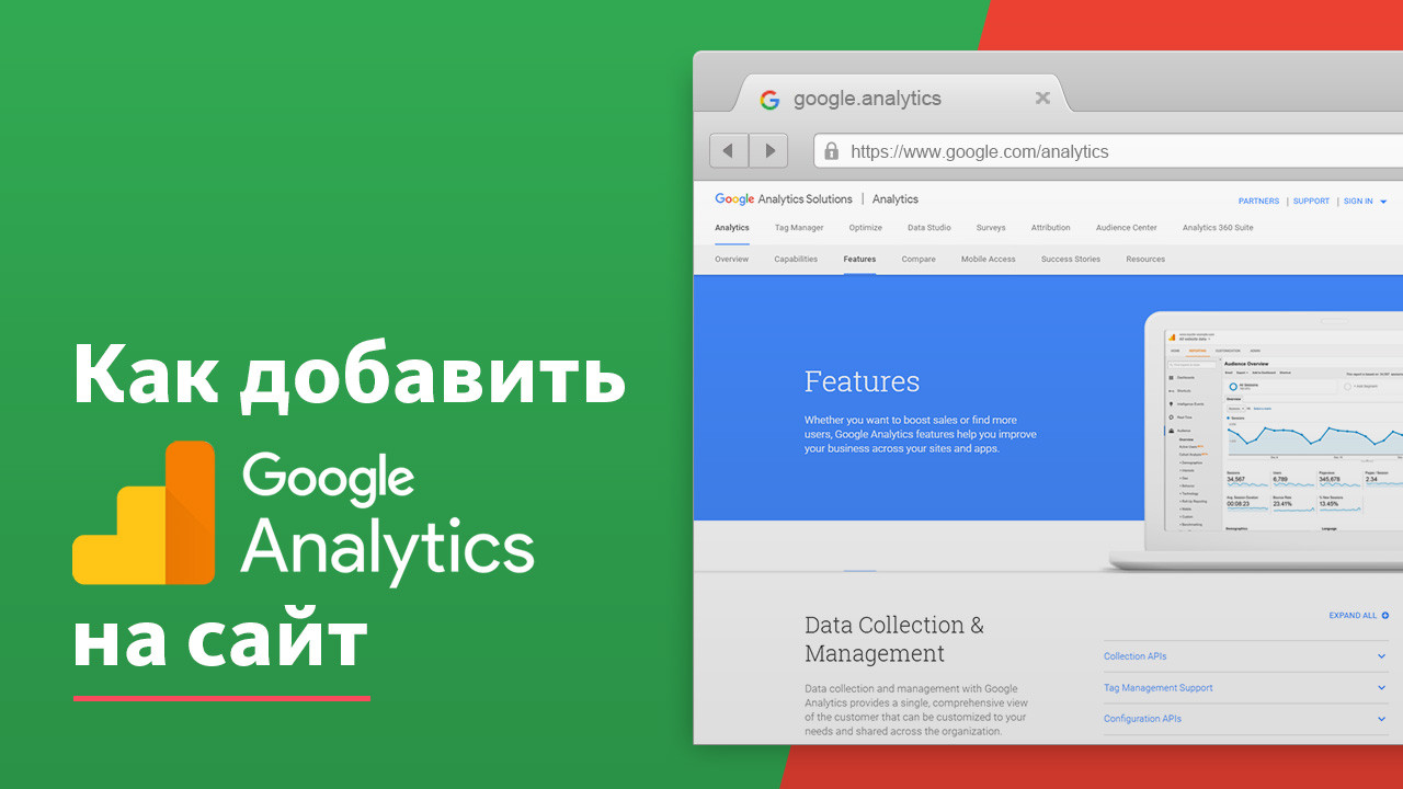Настройка Google Analytics в Актау
