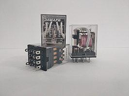 Реле промежуточное MY-4 РПЛ4-5А AC 24V, 4 пары контактов 5А