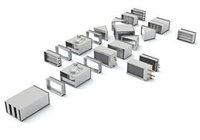 Приточная  установка на базе вентилятора  Корф (KORF) WNP 50-25/22-2D до 1610 м3\ч (в евро)