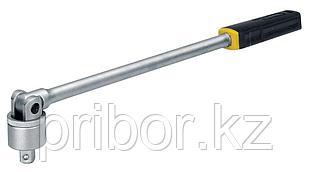 """23090 Proxxon Удлиненная ручка с шарниром и трещоткой на 1/2"""""""
