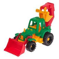 Трактор 'Ижора', с грейдером и ковшом