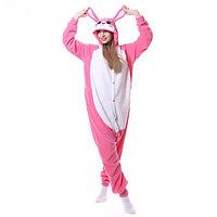 "Кигуруми ""Розовый кролик"""