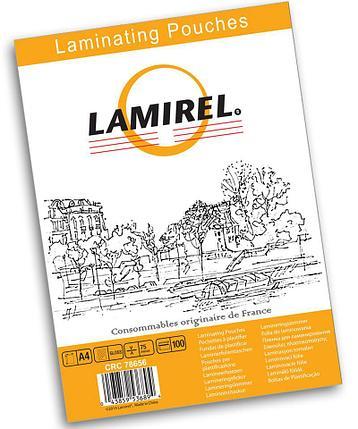 Пленка для ламинирования Fellowes Lamirel А4, 125 мкм, 100 шт., фото 2