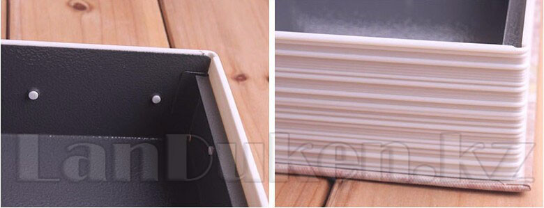 Книга-сейф The New English Dictionary черная 180x115x55 мм маленькая - фото 3
