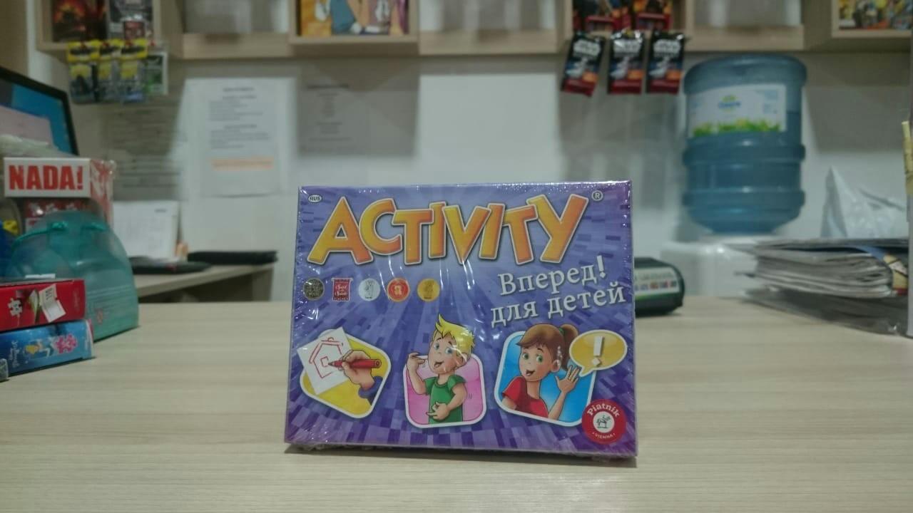 """Настольная игра: Activity """"Вперёд"""", детская версия"""