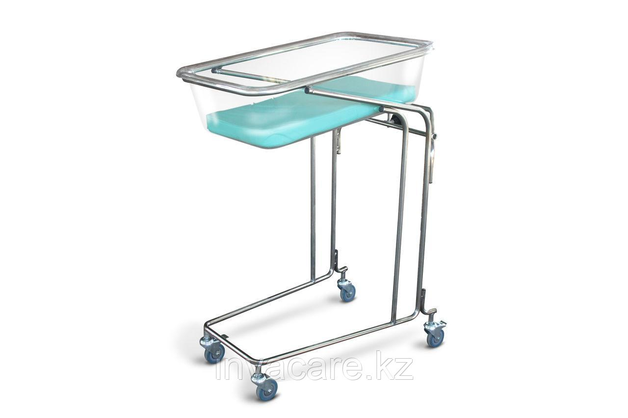 Кровать для новорожденных КН-«Ока-Медик» каркас из нержавеющей стали