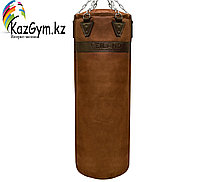 Боксерский мешок из нат. кожи (100х35 см, 25кг), фото 1