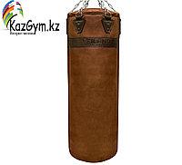 Боксерский мешок из нат. кожи (140х40 см, 55кг), фото 1