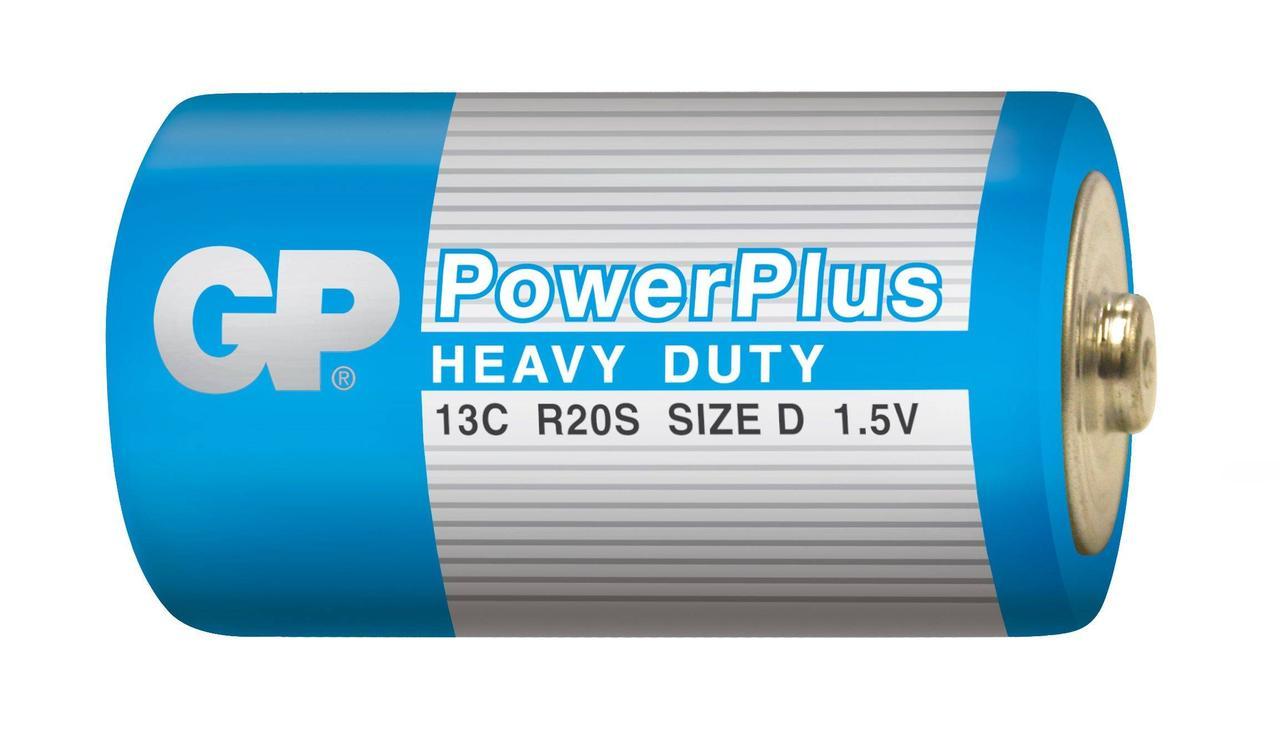 Батарейка GP Power Plus R20/D