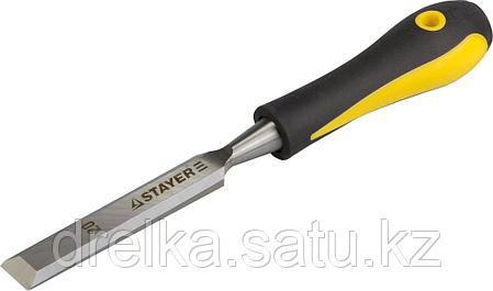 Стамески с двухкомпонентной ручкой, STAYER Profi, фото 2