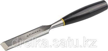"""Стамески """"ЕВРО"""" плоские с пластмассовой ручкой, STAYER, фото 2"""