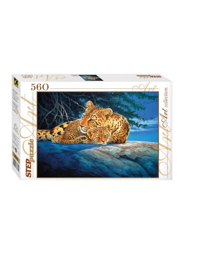 Пазл Леопарды, 560 элементов