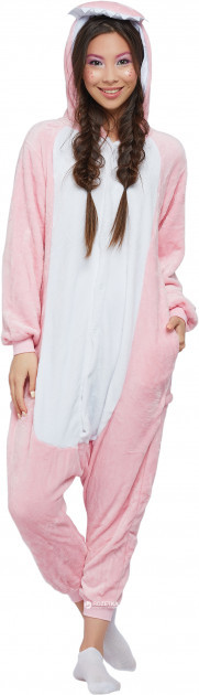 Розово-белый кигуруми