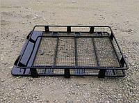 Багажник на крышу метал, 1,8м, пр-во Китай (с креплениями на водостоки)