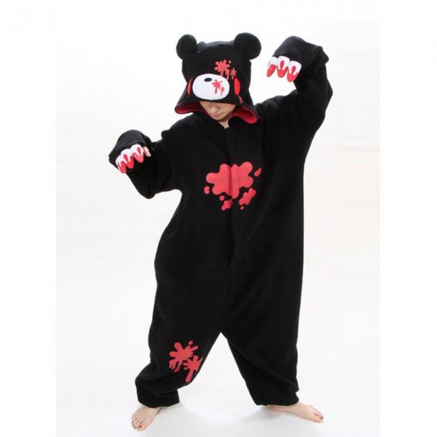 """Кигуруми """"Черный медведь"""""""