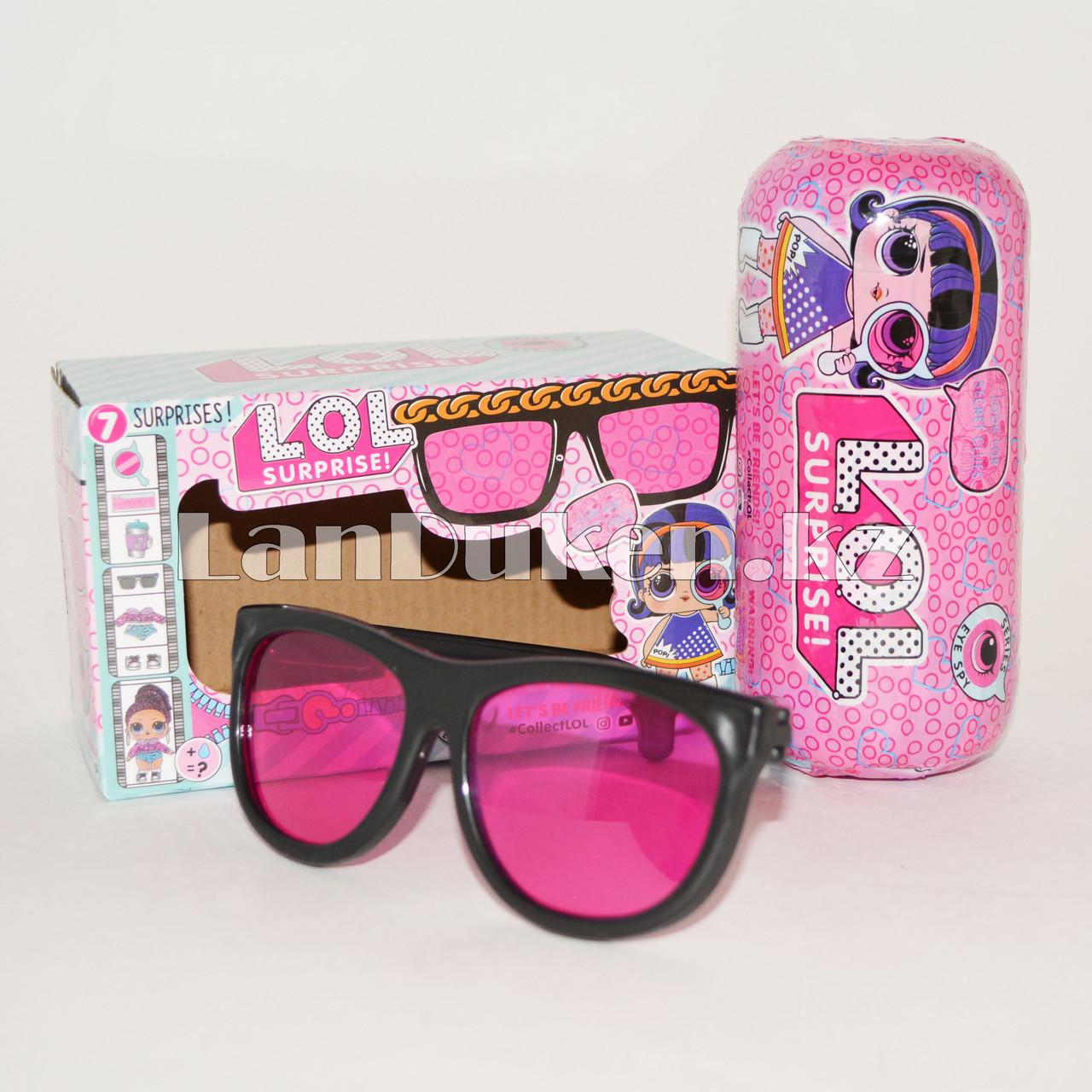 Кукла-сюрприз в капсуле LOL Surprise Under Wraps Eye Spy в индивидуальной коробке ВВ260 (девочка) - фото 1
