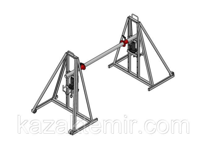 Гидравлический кабельный домкрат для подъёма и размотки кабельных барабанов ДКГ 16-2, фото 2