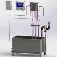 Автомат промывки с подогревом воды и ванной 250 л АП-1