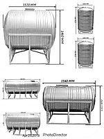 Металлическая емкость для питьевой воды от 250л - 25 000 л
