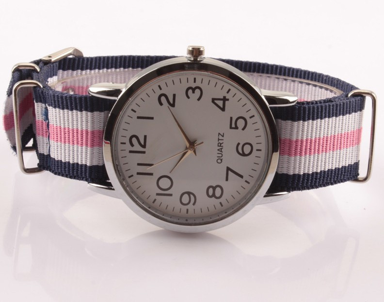 Женские часы с нейлоновым ремешком. Kaspi RED. Рассрочка. - фото 1