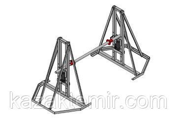 Разборный гидравлический кабельный домкрат ДКГ 22-5Р