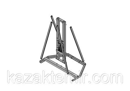 Разборный гидравлический кабельный домкрат ДКГ 22-5Р, фото 2