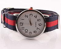 Женские часы с нейлоновым ремешком. Рассрочка. Kaspi RED.