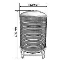 Емкость 1,0 м3 - вертикальная