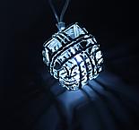 """Гирлянда """"Метраж"""" 5 м с насад. """"Кубик Проволока"""",2,8 см Н.С. LED-20-220V, контр 8р БЕЛЫЙ , фото 2"""