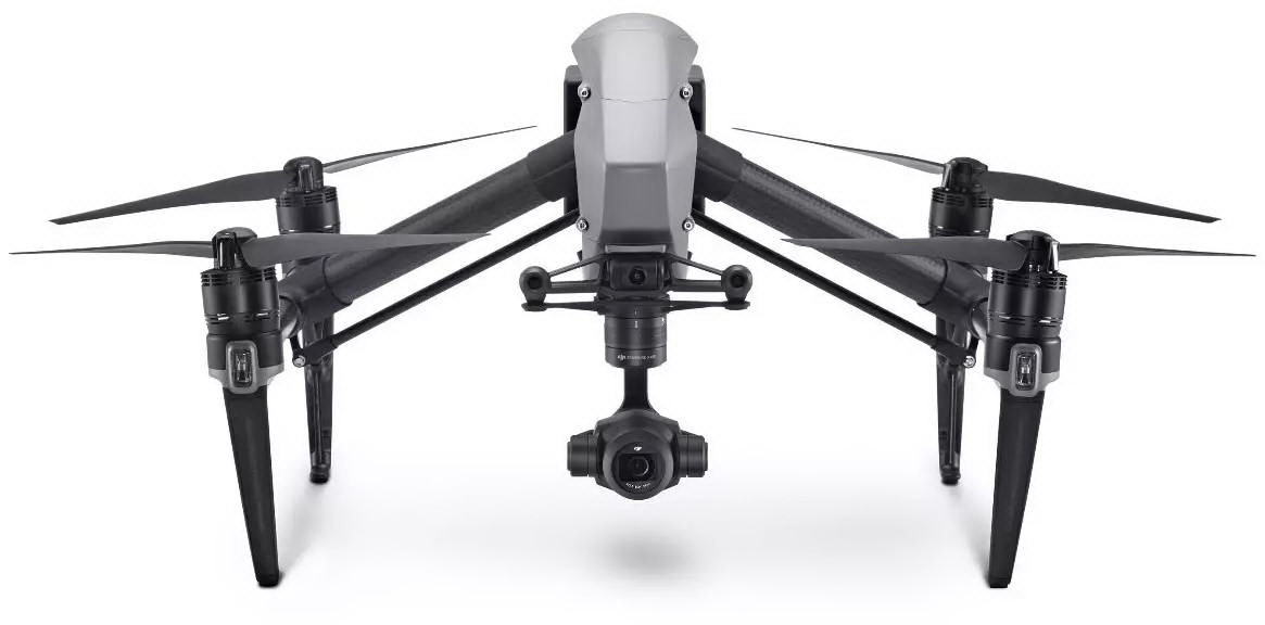 Дрон DJI Inspire 2 с лицензией CinemaDNG and Apple ProRes без камеры