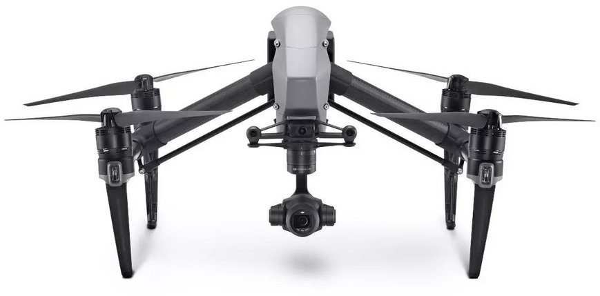 Дрон DJI Inspire 2 с лицензией CinemaDNG and Apple ProRes без камеры, фото 2