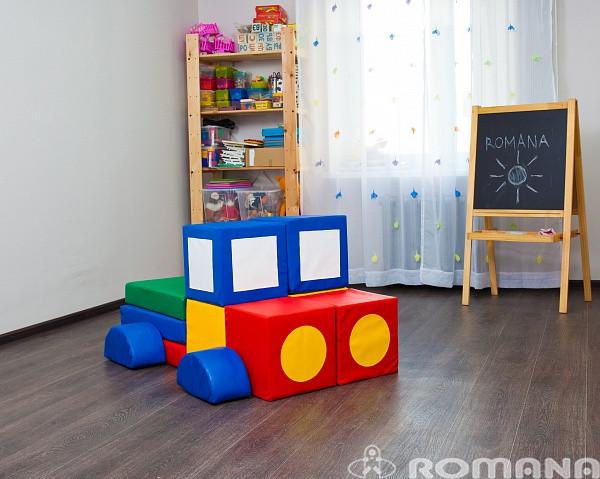 Мягкий игровой комплекс ДМФ-МК-13.78.00 Грузовик