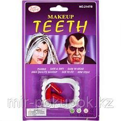 Вампирские зубы + 3 капсулы с кровью, Алматы