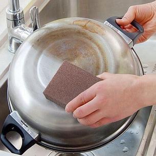 Чудо-губка для чистки сковородок и кастрюль, фото 2