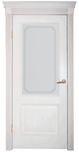 Дверь DL 503 ДО, цвет Эмаль крем