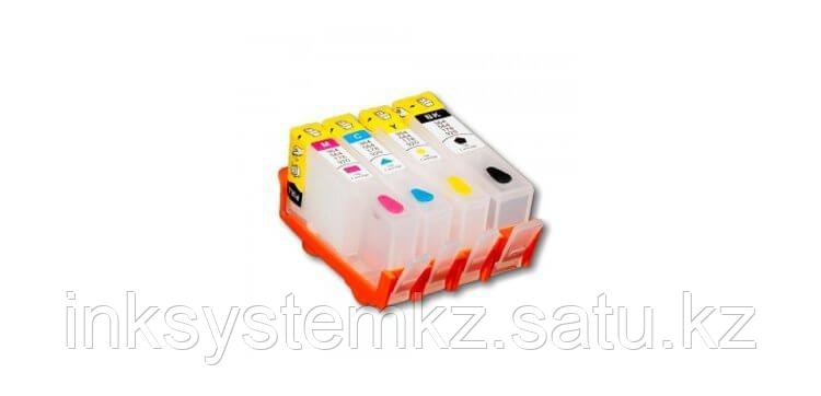 Перезаправляемые картриджи для HP Photosmart B109q (картриджи 178)