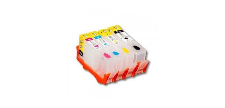 Перезаправляемые картриджи для HP Photosmart 5510 (картриджи 178)