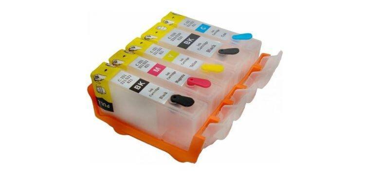 Перезаправляемые картриджи для HP PhotoSmart Premium Fax C410c (картриджи 178, 364, 564, 862, 920)