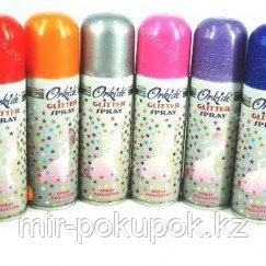 """Блеск для волос Orkide """"Glitter Spray"""", Алматы"""