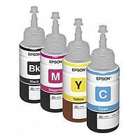 Оригинальные чернила для Epson L220 (70 мл, 4 цвета)